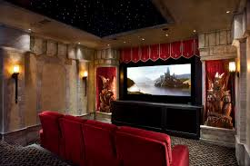 Movie Themed Bedroom Home Movie Theater Ideas Simple Home Theater Idea For Family