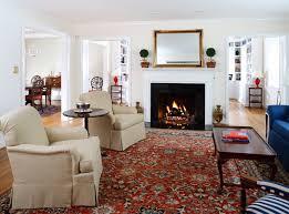 traditional living room by ahmann llc