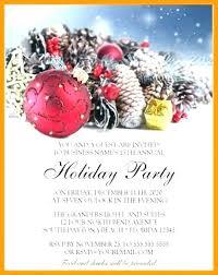 Holiday Party Invitation Templates Microsoft Tinajoathome