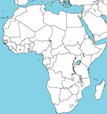 Empty Maps Of Africa Rome Fontanacountryinn Com