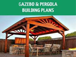 diy pergolas gazebos building plans