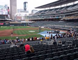 Twins Stadium Seating Chart Target Field Section 120 Seat Views Seatgeek