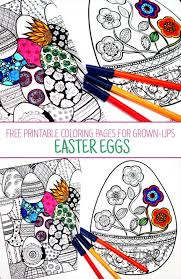 Choose your favorite coloring page and color it in bright colors. Easter Coloring Pages For Grown Ups Red Ted Art Make Crafting With Kids Easy Fun