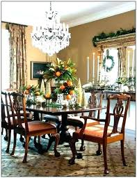 chandelier size for room dining table correct