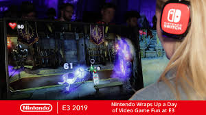 Nintendo has released their e3 2019 schedule and according to the announcement the big n will be holding a nintendo direct to show off some titles as well make some major fun available in its booth. Nintendo Wraps Up A Day Of Video Game Fun At E3 Blog Ppn