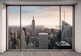 New York Skyline Wallpaper For Bedroom New York