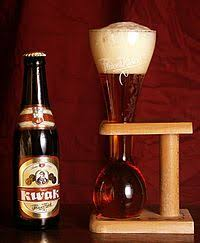 kwak beer served in its traditional gl
