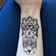Vodotěsné Dočasné Tetování Samolepka Boží Oko Totem Tetování Body Art Falešné Tetování At Vova