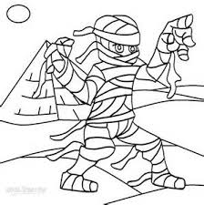 Small Picture Egyptian Mummy Coloring Pages Printable Mummy Coloring Pages For