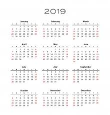 Calendar Template With Picture 2019 Calendar Template Free Stock Photo Public Domain Pictures