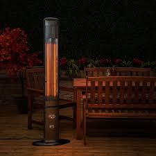 outdoor electric patio heater in black porch heater electric