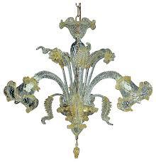 c grande small murano glass chandelier