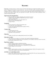 Resume Verbiage Examples Resume Verbiage RESUME 1
