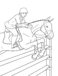 horses jumping coloring pages. Delighful Horses Horse Jumping Coloring Pages Riding Realistic  Show  Inside Horses Jumping Coloring Pages S