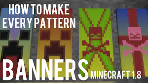 Minecraft Banner Patterns