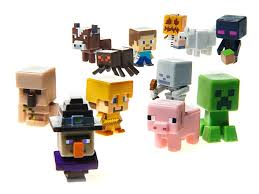 Case Piccole Minecraft : Minecraft collectible figures pk case kids amp toys