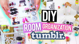 diy room organization for cheap tumblr inspired decor youtube