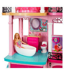 Barbie Pink Plastic Doll House Barbie Pink Plastic Doll House ...