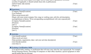 How To Write A Bartending Resume Cocktail Bartender Job