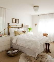 White Interior Color For Romantic Master Bedroom Ideas With White