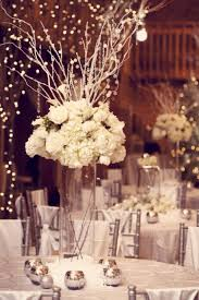 Unique And Romantic Wedding Centerpieces Ideas: winter wedding centerpieces