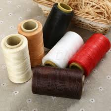 details about 260m 150d waxed thread repair cord string sewing leather hand stitching tool