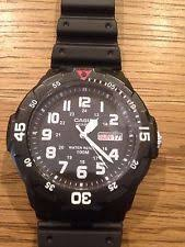 mens casio divers watches casio men s diver style watch black