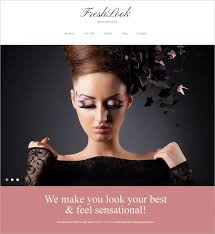 makeup artists joomla template 75