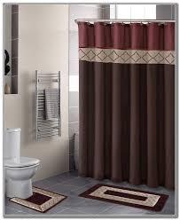 burgundy shower curtain sets. bathroom sets with shower curtain and rugs burgundy o