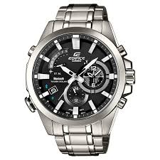men s watches designer fashion watches h samuel casio edifice men s stainless steel bluetooth watch product number 2841126