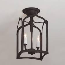 Arched Silhouette Pendant Light Gothic Arch Iron Ceiling Light Ceiling Lights Ceiling