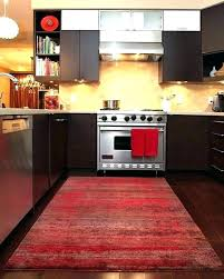 kitchen mat sets red rug southwestern area rugs path in sand wool red gel mats