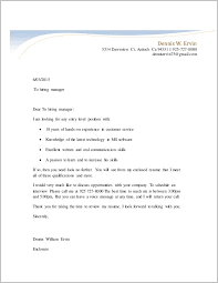 Cover Letter For Unsolicited Resume Cover Letter Resume Examples