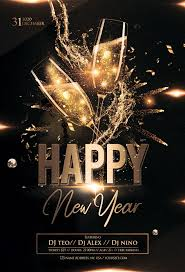 New Year Flyers Template Happy New Year 2020 2 Free Psd Flyer Template Free Psd
