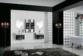 Bathroom And Tile Black And White Tile Bathroom Decorating Ideas Photos