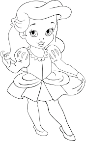 baby princess coloring pages disney princess coloring pages ba princess coloring cheer coloring pages