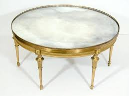 mirrored coffee table round round mirrored coffee table top oval decor of with tables luxury gold