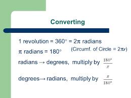 7 2 Radian Measure Ppt Download
