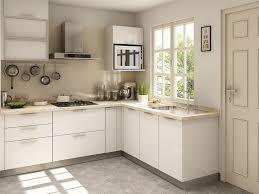 kitchen design l shape. Perfect Shape White Modern L Shaped Kitchen Design In Kitchen Shape N