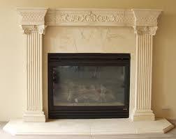 shining design faux stone fireplace mantel home ideas cast mantels pre surrounds electric shelf
