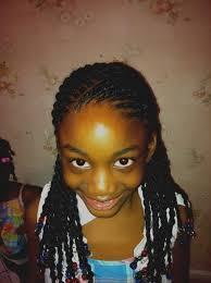 Belle De Coiffure Afro Femme Vanille Africaine Cheveux