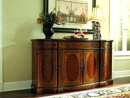 black buffet sideboard glass doors dining room brilliant hutch wooden solid table