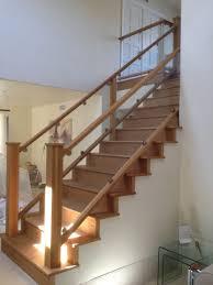 Glass Railings In Torrance Ca California Reflections Custom Built Wood And  Railing I Interior Wood Railings 54