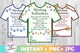 Browse svg vectors about number term. T Shirt Care Cards Holiday Graphic By Suzannecornejo Creative Fabrica
