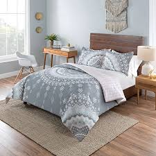 tribal themed bedroom.  Themed 3pc Girls Light Pink White Grey Bohemian Mandala Comforter King Set Gray  Girly Tribal On Themed Bedroom A