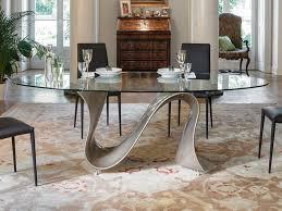 dining room tables oval. Tonin Casa Wave Modern Oval Dining Table Thumbnail Room Tables A