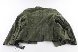 jones new york leather jacket size xl