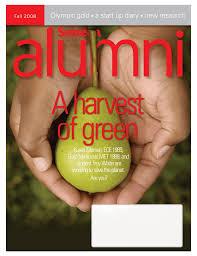 Seneca Alumni Green Issue - helena moncrieff communications