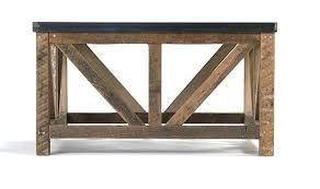 zinc top coffee table coffee table zinc top zinc top rectangular coffee table