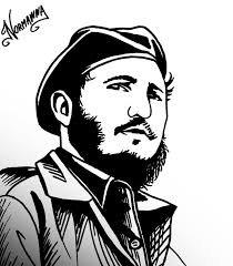 Fidel Castro Drawing Pic Drawing Skill